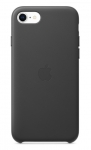 Apple Leather Case for iPhone SE, 7 and 8 - Black