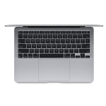 Apple MacBook Air (M1, Late 2020) 13.3 Inch Retina 2K Apple M1 3.2GHz 8GB RAM 512GB SSD Laptop with macOS - Space Grey