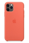 Apple Silicone Case for iPhone 11 Pro - Clementine
