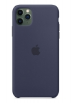 Apple Silicone Case for iPhone 11 Pro Max - Midnight Blue