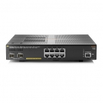 Aruba 2930F-8G-PoE+-2SFP+ 8 Port Layer 3 Gigabit PoE+ Managed Switch + 2 x SFP+