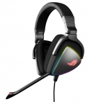 ASUS ROG Delta USB-C Stereo Wired Gaming Headset with Exclusive Circular Rainbow RGB Lighting