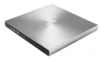 Asus ZenDrive U9M 8x DVD-RW USB 2.0 External Optical Drive - Silver + 6 Month Kaspersky Internet Security License by Redemption!