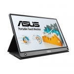 ASUS ZenScreen Touch MB16AMT 15.6 Inch 1920 x 1080 250nit IPS Portable Monitor with Built-In Battery & Speakers - USB-C & Micro HDMI