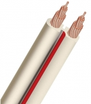 AudioQuest X2 Flat Series 15m Speaker Cable Roll - Off White