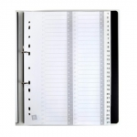 Avery White A4 Pre-printed Plastic Divider - 1-54 Tabs