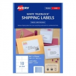 Avery L7173 White Laser 99.1 x 57mm Permanent Shipping Labels with Trueblock - 1000 Pack