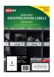 Avery L4774REV White Laser 99.1 x 139mm Removable Heavy Duty Labels – 80 Pack