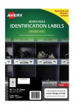 Avery L4778REV White Laser 45.7 x 21.2mm Removable Heavy Duty Labels – 960 Pack