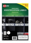 Avery L4716REV White Laser 30mm Round Removable Heavy Duty Labels – 960 Pack
