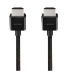 Belkin 2m 4K Ultra High Speed HDMI 2.1 Braided Cable - Black