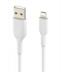 Belkin BoostUP Charge 1m Lightning to USB-A Charge & Sync Cable - White