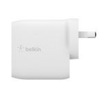 Belkin BoostUP Charge Dual USB-A 24W Wall Charger Lightning to USB-A Cable - White