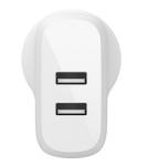 Belkin BoostUP Charge Dual USB-A 24W Wall Charger - White