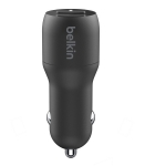 Belkin BoostUP Charge Dual USB-A 24W Car Charger with 1m USB-A to USB-C Cable
