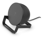 Belkin BoostUP Charge Wireless Charging Stand with Speaker - Black