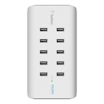 Belkin RockStar 10 Port USB Charging Station - White