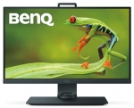 BenQ SW271 27 Inch 3840 x 2160 4K 5ms 350nit IPS Photographer Monitor with Shading Hood - HDMI DisplayPort USB-C