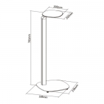 Brateck Sophisticated Universal Speaker Stand Mounts