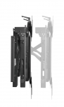 Brateck Pop-Out Portrait Video Wall Bracket for 45-70 Inch Flat Panel Monitors - Up to 70kg