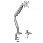 Brateck Gas Spring Desk Mount Bracket for 17-32 Inch Curved and Flat Panel TVs or Monitors - Up to 9kgs