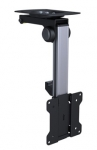 Brateck Aluminum Folding Ceiling Mount Bracket for 13-27 Inch Flat Panel TVs or Monitors - Up to 20kg