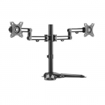 Brateck Articulating Dual Monitor Desk Stand for 17-32 Inch Flat Panel TVs or Monitors - Up to 8Kg per screen