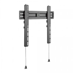 Brateck Ultra Slim Full-Motion Fixed Wall Mount Bracket for 32-55 Inch Curved & Flat Panel TVs or Monitors - Up to 35kg