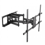 Brateck Super Solid Large Full-Motion Wall Mount Bracket for 50-90 Inch Flat Panel & Curved TVs or Monitors - Up to 75kg