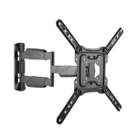 Brateck Elegant Full-Motion 615mm Wall Mount Bracket for 23-55 Inch Flat Panel & Curved TVs or Monitors - Up to 35kg