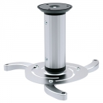 Brateck Aluminum 130/200/320mm Changeable Length Ceiling Projector Mount Bracket - Silver