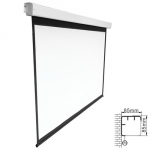 Brateck 135 Inch 16:9 Electric Projector Screen with Remote
