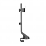 Brateck Articulating Single Monitor Desk Mount Bracket for 17-32 Inch Curved & Flat Panel TVs or Monitors - Up to 8kg per arm