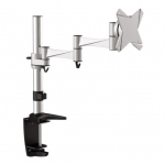 Brateck Elegant Aluminum Desk Mount Bracket for 13-27 Inch Flat Panel TVs or Monitors - Up to 8kg