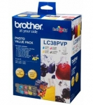 Brother LC38PVP Photo Value Pack