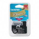 Brother P-Touch M921 9mm Black on Silver Label Tape