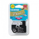 Brother MK233 12mm Blue On White P-Touch Tape