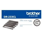 Brother DR233CL 4 Pack Drum Unit - Black Cyan Magenta Yellow