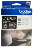 Brother LC137XLBK Black High Yield Ink Cartridge