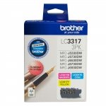 Brother LC33173PK Ink Cartridge Value Pack - Cyan Magenta Yellow