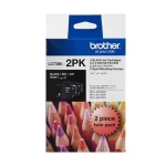 Brother LC73BK Black Ink Cartridge - Twin Pack