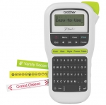 Brother P-Touch PTH110 Durable Label Printer - White