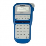 Brother P-Touch PTH110 Durable Label Printer - Blue & White