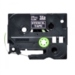 Brother P-Touch STE-151 24mm Stencil Label Tape