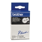 Brother P-Touch TC291 9mm Black on White Label Tape