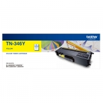 Brother TN346Y High Yield Yellow Toner Cartridge