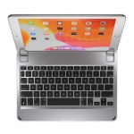 Brydge 10.2 Bluetooth Keyboard for 10.2 Inch iPad (7th Gen) - Silver