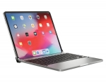 Brydge Pro Wireless Keyboard for iPad Pro 12.9 inch 3rd and 4th Gen- Silver