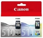 Canon PG-510 + CL-511 Ink Cartridge Value Pack