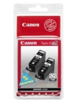 Canon PGI-525BK Black Ink Cartridge - Twin Pack